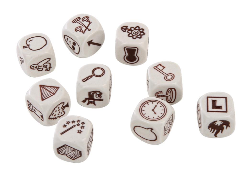 Настольная игра Rorys Story Cubes семейная Кубики Историй: Дополнительный набор