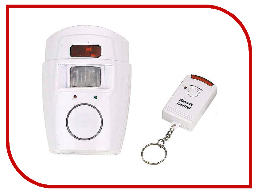 Аксессуар Сигнализация беспроводная Bradex Intruder Alarm TD 0215 / YL-105 White 2pcs lot wireless keychain remote controller for ihome focus gsm pstn alarm intruder security system free shipping