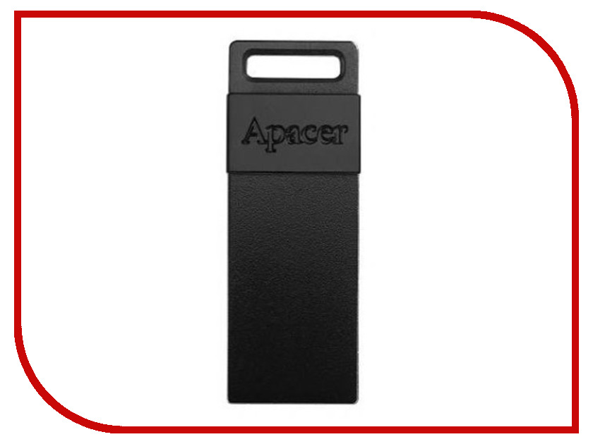 USB Flash Drive 16Gb - Apacer Handy Steno AH110 Black AP16GAH110B-1<br>