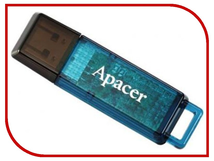 USB Flash Drive 16Gb - Apacer Handy Steno AH324 Blue AP16GAH324U-1