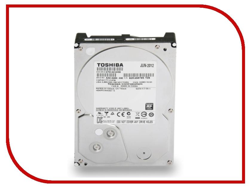 Жесткий диск 2Tb - Toshiba DT01ACA200 toshiba p300 hdwd130uzsva