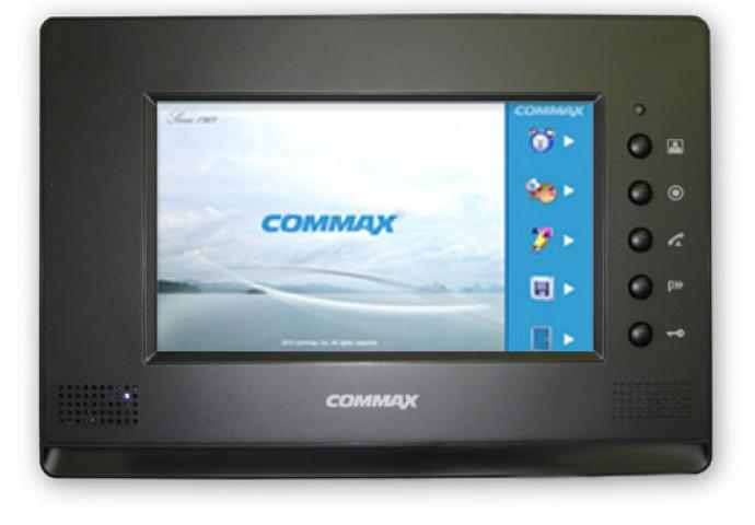 Видеодомофон Commax CDV-71AM Black фото