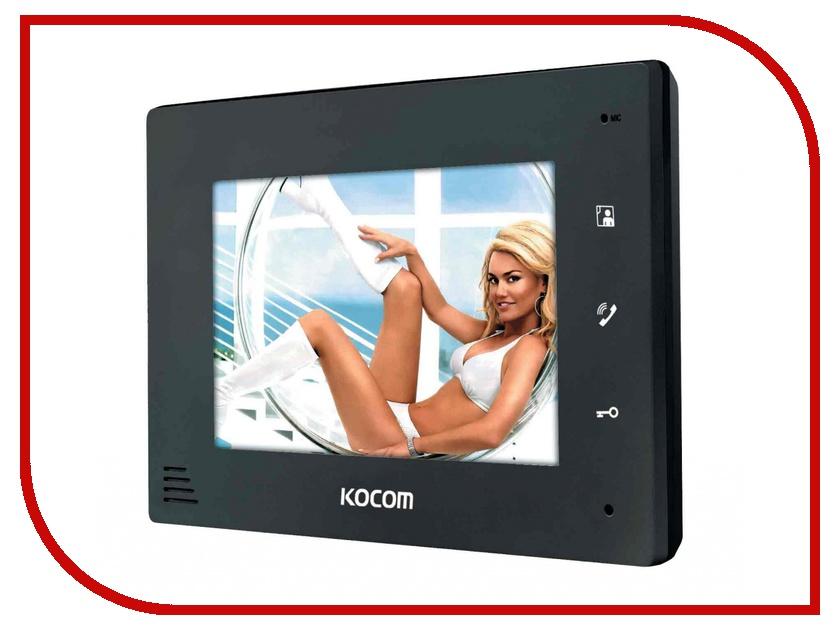 Видеодомофон Kocom KCV-A374 Black<br>