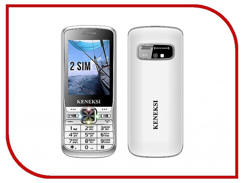 Сотовый телефон KENEKSI S2 Silver