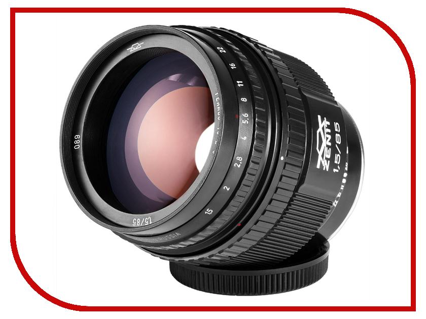Zakazat.ru: Объектив Зенит МС Гелиос 40-2C Canon 85 mm F/1.5