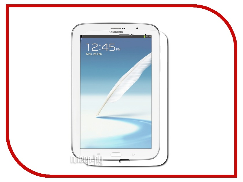 Аксессуар Защитная пленка Samsung Galaxy Tab 3-8.0 LuxCase суперпрозрачная 80594<br>