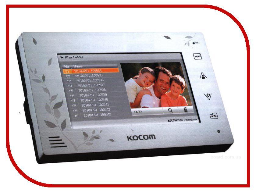 Видеодомофон Kocom KCV-A374SD White<br>