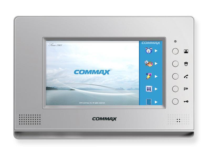 Видеодомофон Commax CDV-71AM Silver