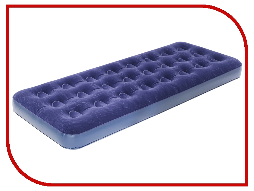 Надувной матрас BestWay 185x76x22cm 67000 надувная мебель bestway 67000 flocked air bed single