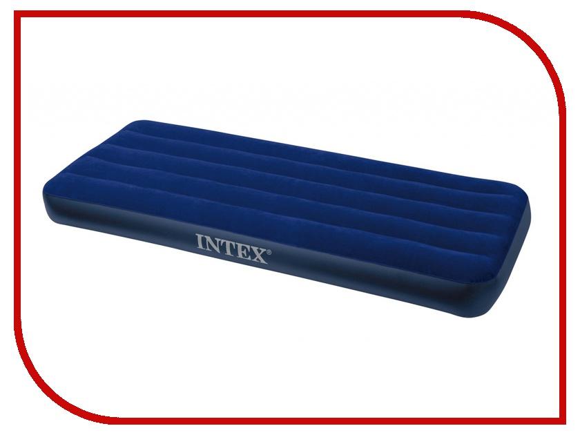 Надувной матрас Intex 76x191x22cm 68950 отзывы надувной матрас intex