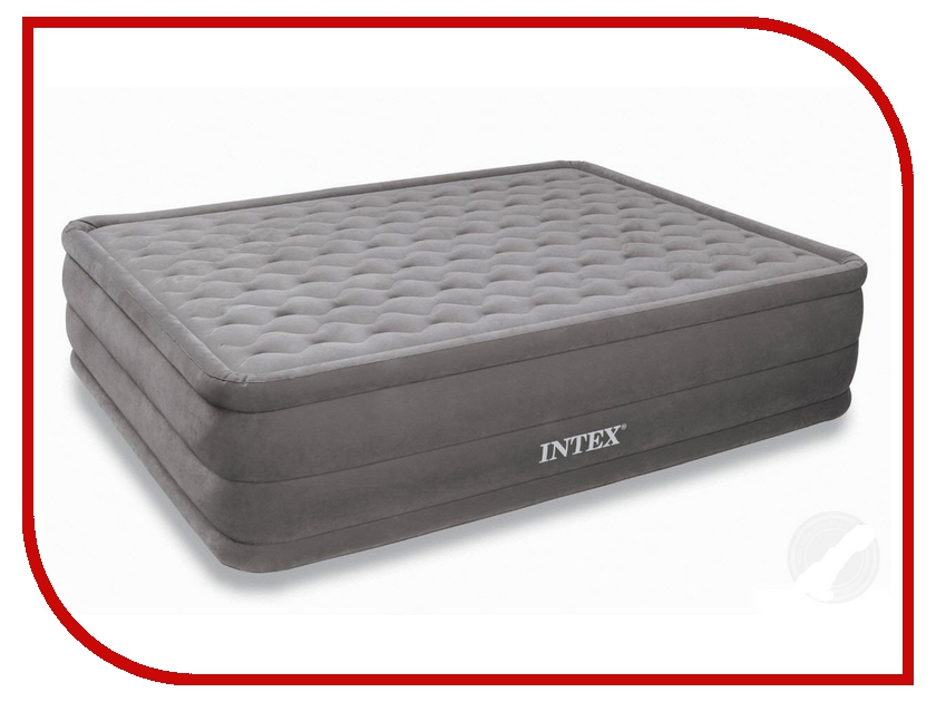 Надувной матрас Intex 152x203x46cm 66958 матрас intex classic downy bed