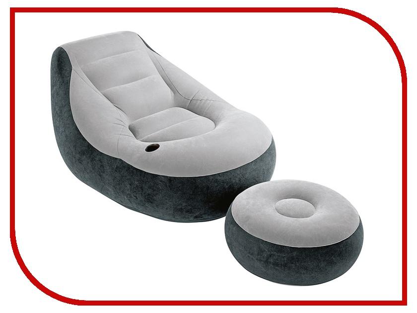 Надувное кресло Intex 68564 кресло надувное intex собака цвет белый 65 х 64 х 74 см