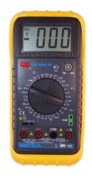 Мультиметр Mastech MY62 цены
