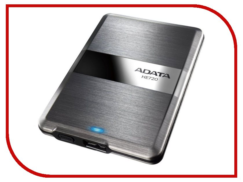Жесткий диск A-Data DashDrive Elite HE720 1Tb Titanium AHE720-1TU3-CTI
