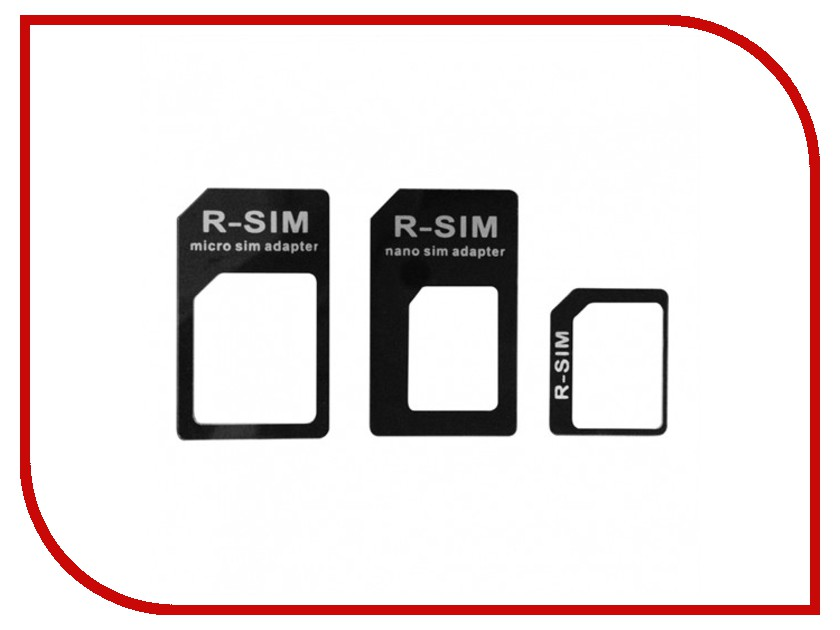 Аксессуар CBR CB 05 / Human Friends Frame - Набор переходников nanoSIM, microSIM, miniSIM