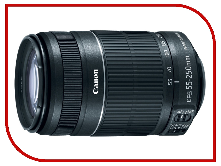 Объектив Canon EF-S 55-250 mm F/4-5.6 IS STMобъективы для Canon<br><br>