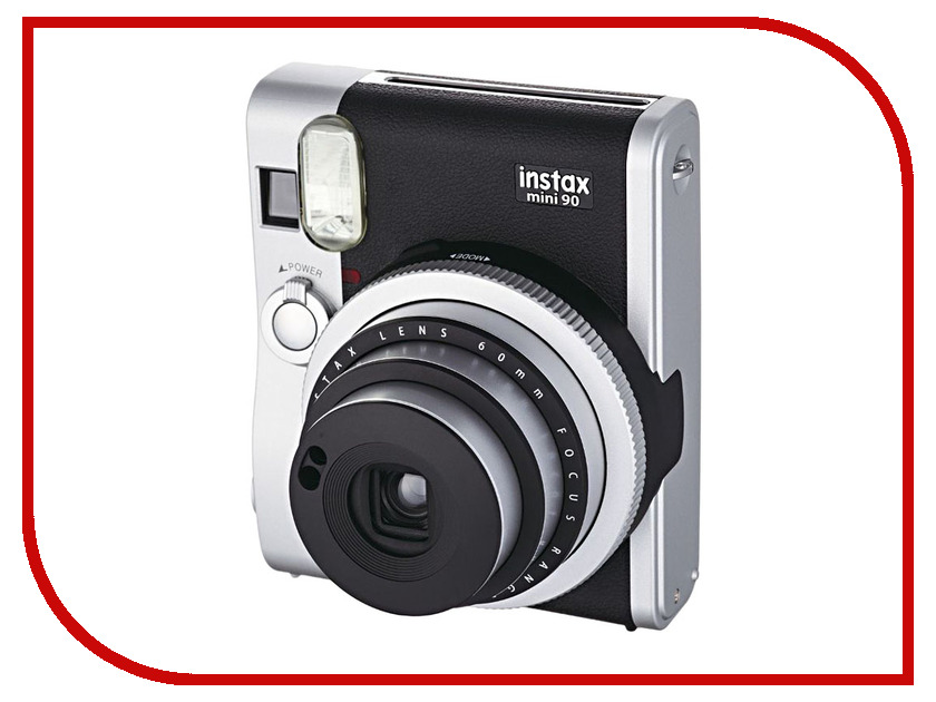 Фотоаппарат Fujifilm 90 Instax Mini Neo Classic Black-Silver brand new fujifilm instax camera mini 90s black instant mini film camera free shipping