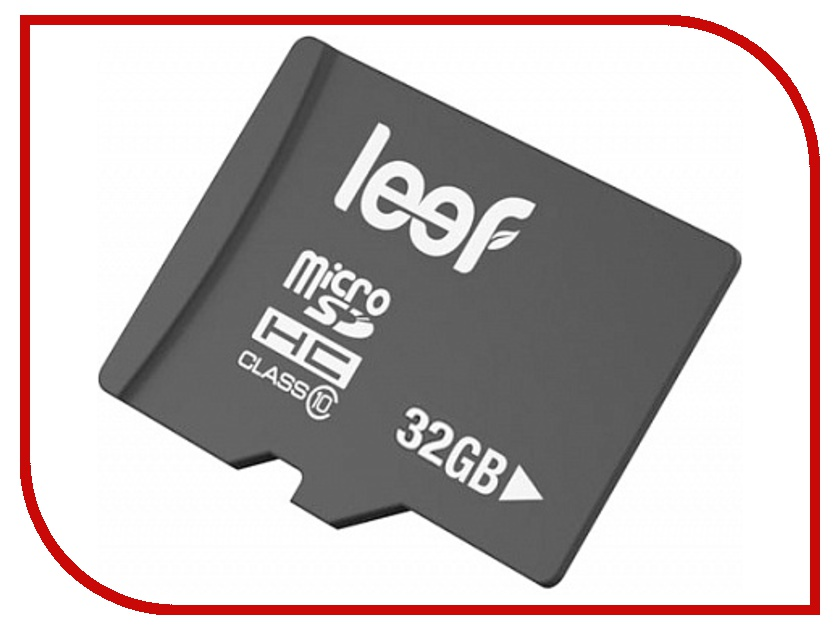 Карта памяти 32Gb - Leef - Micro Secure Digital HC Class 10 LFMSD-03210R купить дешево онлайн