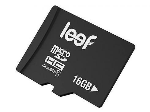 Карта памяти 16Gb - Leef Micro Secure Digital HC Class 10 LFMSD-01610R