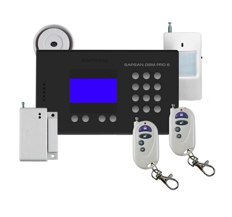 Сигнализация Sapsan GSM Pro 6 с датчиками 00006547 цены