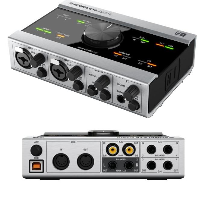 Аудиоинтерфейс Native Instruments Komplete Audio 6 native instruments komplete kontrol s25