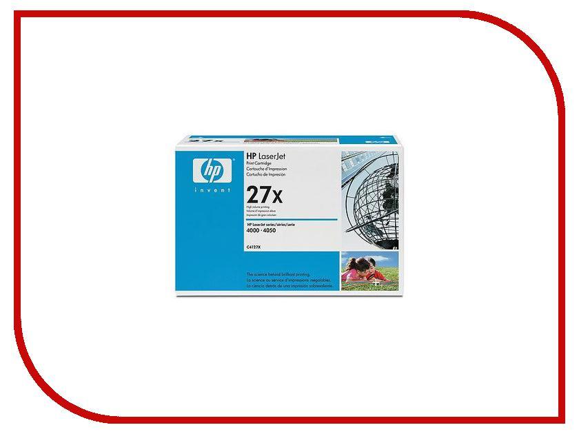 Картридж HP 27X Black для 4000/4050 C4127X<br>