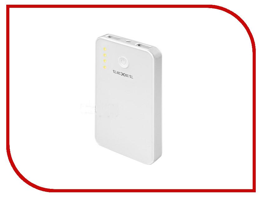 Аккумулятор teXet PowerPack TPB-2111 3400mAh White texet dvr 580fhd