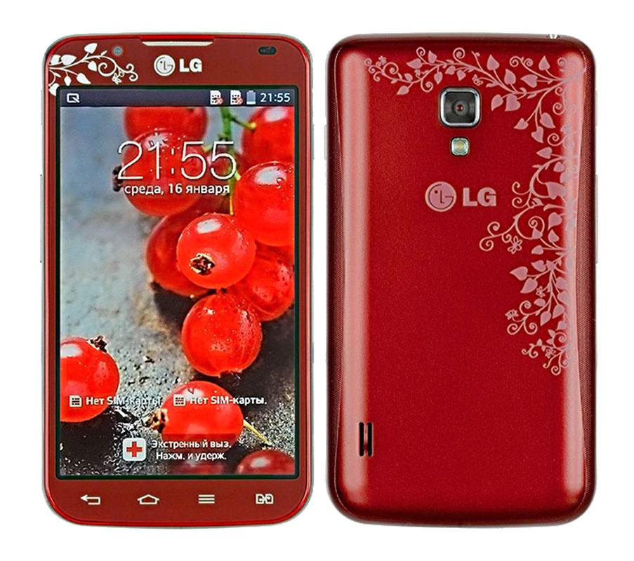 Сотовый телефон LG P715 Optimus L7 II Dual Red