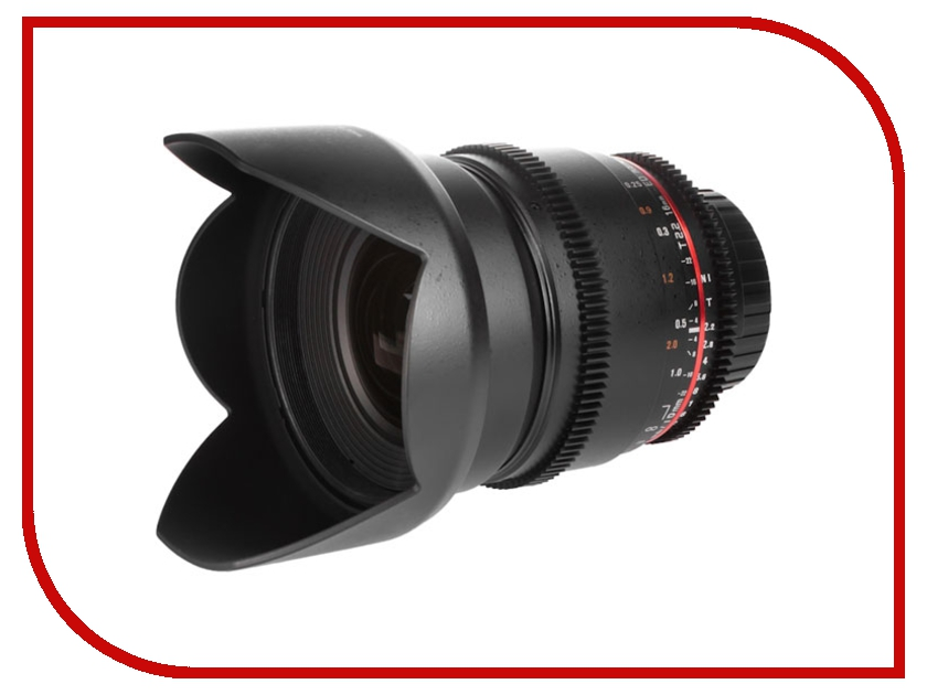 Объектив Samyang Canon MF 16 mm F/2.0 ED AS UMS CS<br>