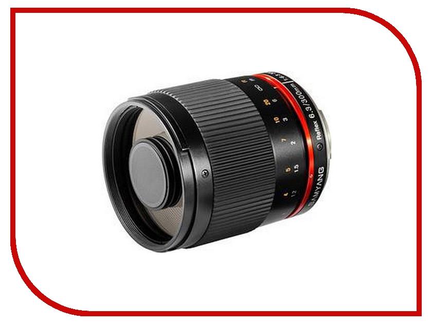 Объектив Samyang Sony E NEX MF 300 mm F/6.3 Reflex ED UMC CS Black объектив samyang sony e nex 50 mm f 1 2 as umc cs