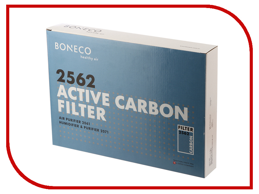 Аксессуар Фильтр угольный Boneco 2562 для Air--Swiss 2061/2071