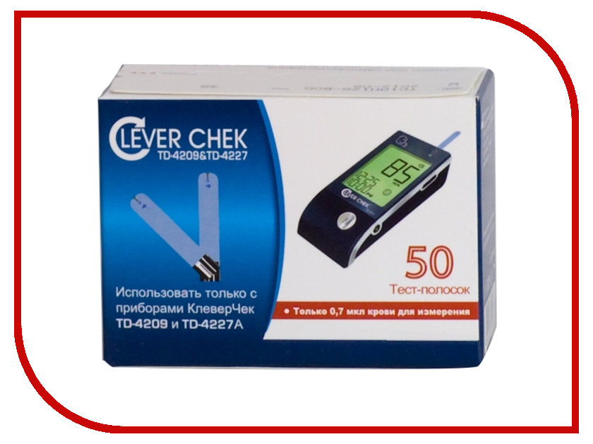 Тест-полоски Clever Chek TD-4227 clever