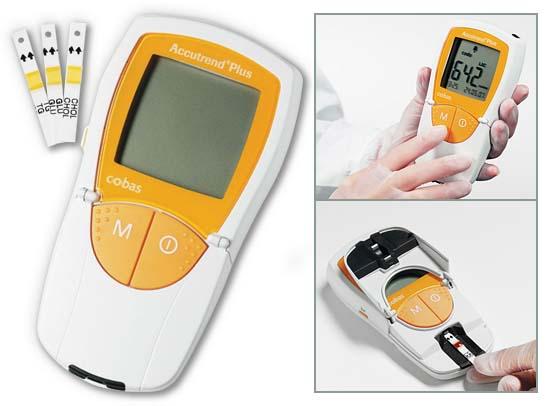 Анализатор крови Accutrend Plus