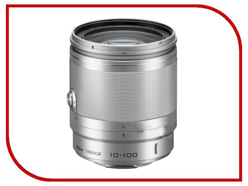 Объектив Nikon Nikkor 10-100 mm F/4-5.6 VR for Nikon 1 Silver<br>