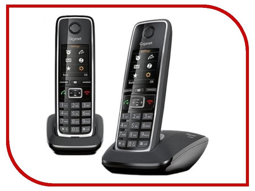Радиотелефон Gigaset C530 DUO Black gigaset c530 duo