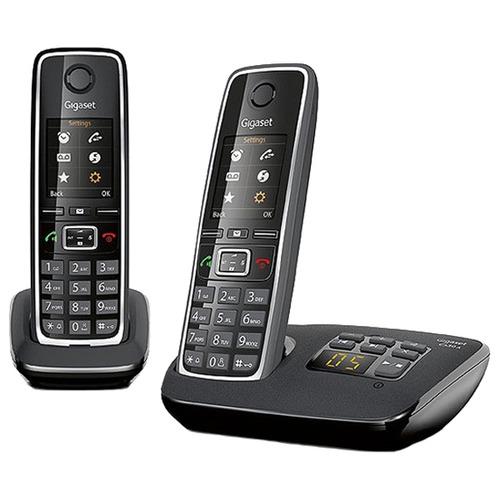 Радиотелефон Gigaset C530A DUO / C530AM DUO Black gigaset c530a ip черный