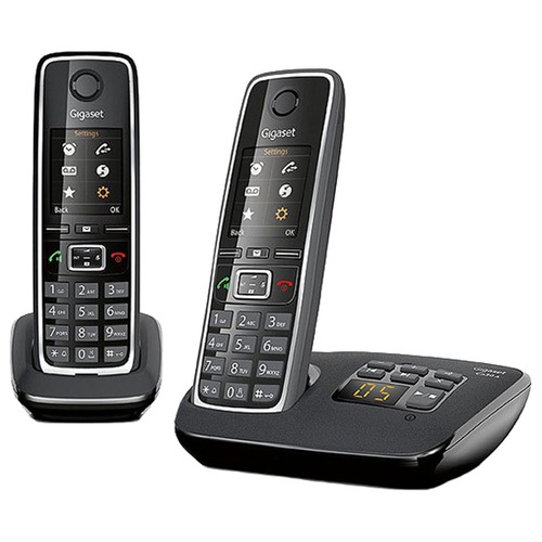 Радиотелефон Gigaset C530A DUO / C530AM Black