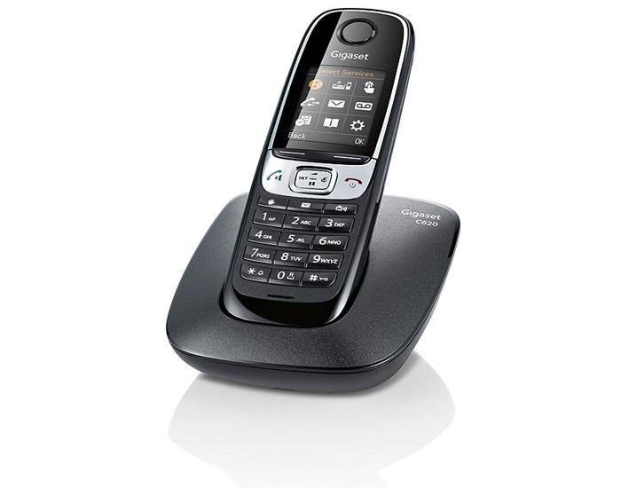 Радиотелефон Gigaset C620 Black