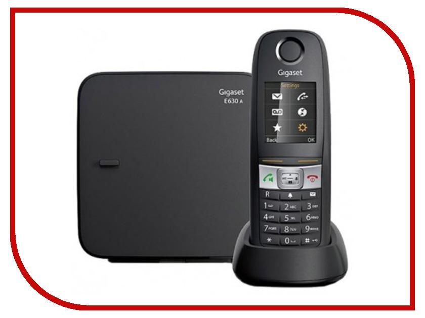 Радиотелефон Gigaset E630A Black