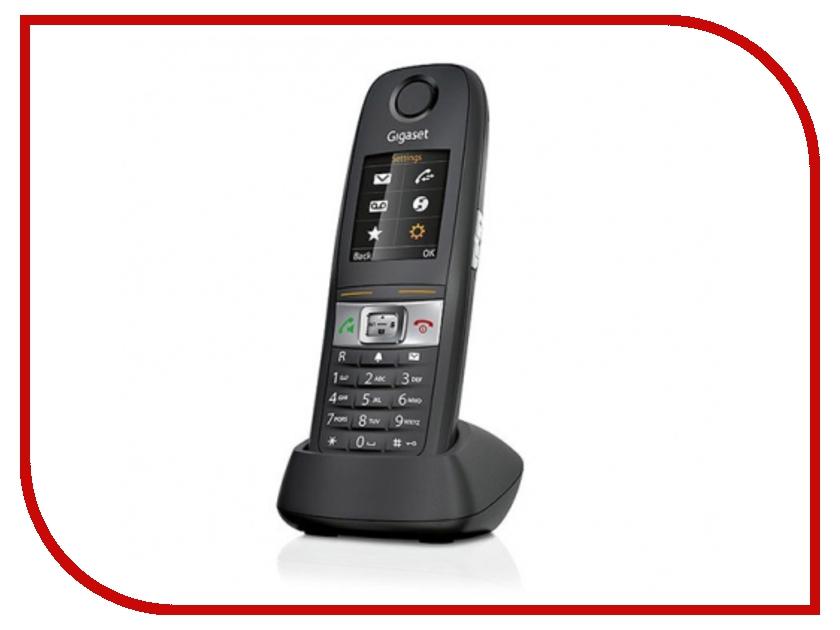 Радиотелефон Gigaset E630H Black (доп. трубка) радиотелефон dect gigaset e630h черный