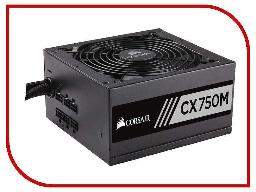 Блок питания Corsair CX750M 750W CP-9020061-EU блок питания corsair hx750i 750w cp 9020072 eu