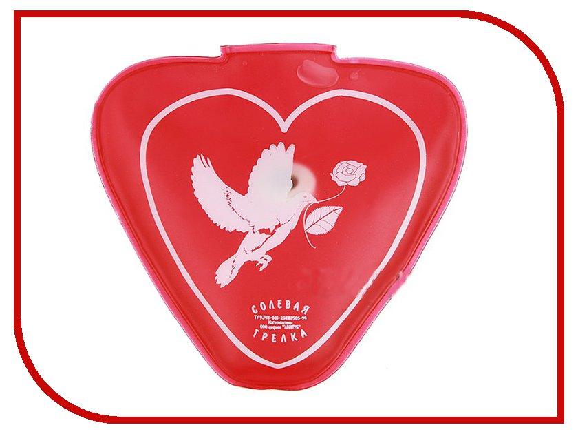 Солевая грелка Линтуб Сердце 120x115x13mm<br>