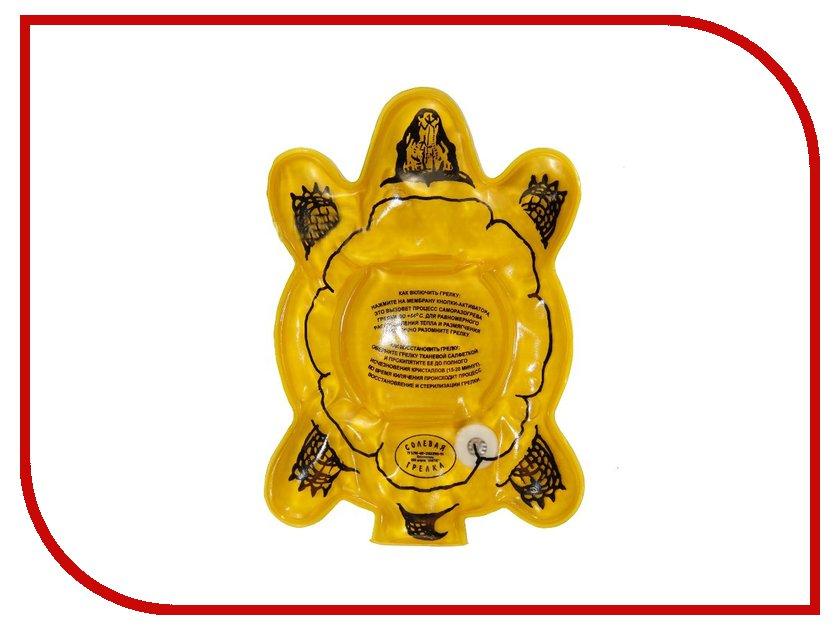 Солевая грелка Линтуб Черепаха 200x140x15mm грелка солевая воротник