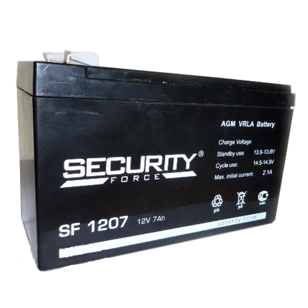 Аккумулятор Security Force / Alarm АКБ-7 SF 1207