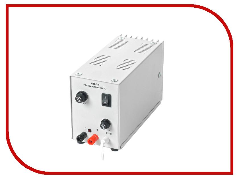 Аккумулятор Телеинформсвязь БП-5А блок питания стабилизированный 12В