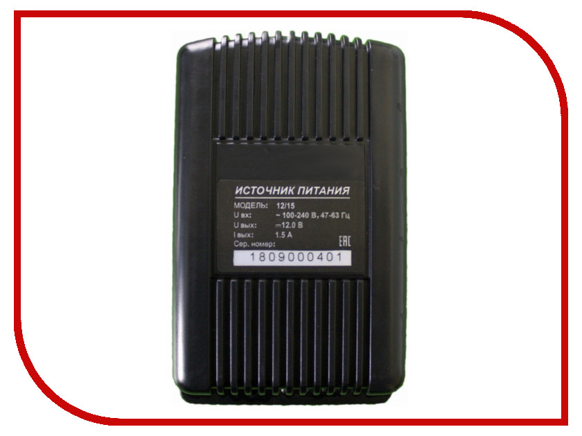 Аккумулятор AccordTec AT-12/15 источник питания 12V