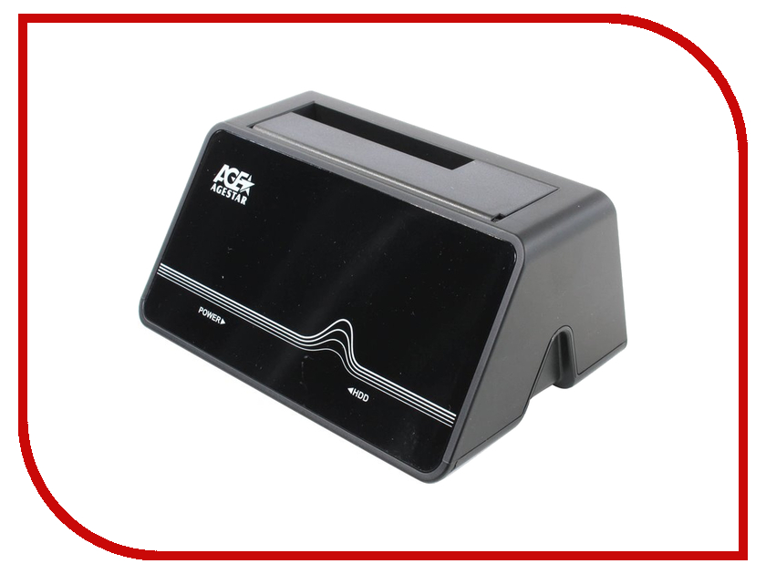 Аксессуар AgeStar Docking Station 3CBT4 Black<br>