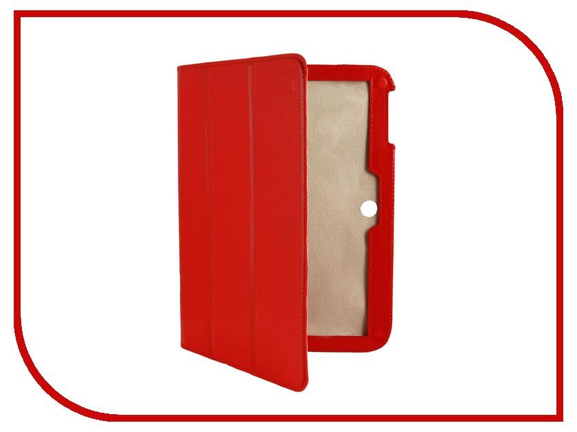 Аксессуар Чехол Galaxy Tab 3 10.1 P5200/P5210 Lemon Tree Slim Anti-Spot Red LT-21SA0703