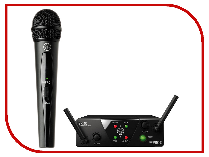 цена на Радиосистема AKG WMS40 Mini Vocal Set Band US45C - вокальная радиосистема