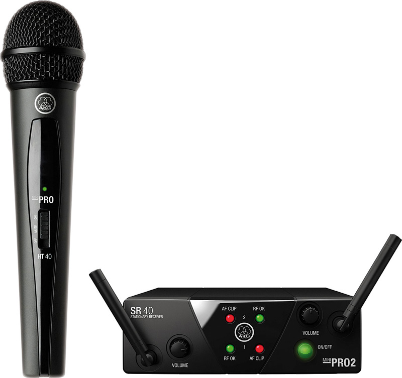 Радиосистема AKG WMS40 Mini Vocal Set Band US45C - вокальная радиосистема